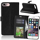 Stand Leather Card Holder Wallet Magnetic Case Cover For Alcatel Cell Phone
