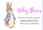 personalised party Invitations BABY SHOWER BEATRIX POTTER PETER RABBIT #2