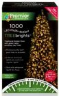 Premier 1000 LEDs Multi-Action TREEBRIGHTS Light GOLD 25m Xmas Christmas Party