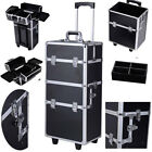 Vanity Make Up Case Hairdressing Vanity Beauty Cosmetic Box Trolley Extra Large