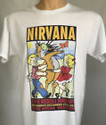 Nirvana T Shirt Kurt Cobain concert tour T-shirt  at Astro Arena Houston  image