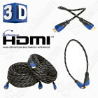 Внешний вид - HDMI CABLE PREMIUM HIGH SPEED 1.4 Wire BLURAY 3D DVD HDTV HD Gold Plated - LOT