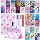 Folio Leather Flip Stand Case Cover For Apple iPad Mini 1 2 3 4/Air 2 1/Pro 9.7""