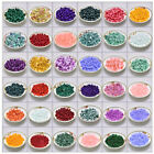 Colorful Gemstone Round Spacer Loose Beads Stone 10mm/8mm/6mm/4mm Assorted Glass