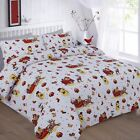 FABULOUS CHRISTMAS DESIGN NOEL DUVET BEDDING SETS SEASONAL BRIGHT VARIOUS SIZES