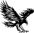 Bald Eagle Flying Bird Art Wall Car Window Laptop Vinyl Sticker Decal