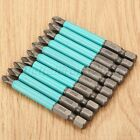 """6 10pc 1 4"""" Hex Quick Release Shank Magnetic Screwdriver Bit PH2 Bits Power Tool"""