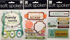 U CHOOSE Soft Spoken Family Theme Sticker Pack Mambi