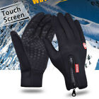 Men's Touch Screen Gloves Winter Warm Driving Gloves Outdoor Cycling Gloves US