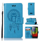 Leather Flip Magnetic Protective Skin Case Cover for Lenovo A2010 Smartphone