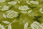 Butterflies & Dandilions on Green PVC Easy Wipe Clean Tablecloth 140cm Wide