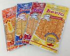 32x Bento Squid 6G Seasoned Dry Seafood Thai Snack Spicy Picnic Camp Travel Crkt
