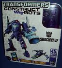 TRANSFORMERS SHOCKWAVE construct bots Build transformer NEW