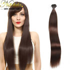 100 Strands I Tip Hair Pre-Bonded Keratin Stick I-Tip Remy Human Hair Extensions