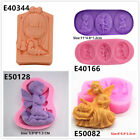 Childs Angel Silicone Cake Fondant Cookie Biscuit Chocolate Molds Decorate Tool