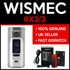 AUTHENTIC WISMEC REULEAUX RX2/3 MOD | DUAL OR TRIPLE 18650 | 200 WATTS | OLED