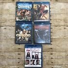 Bluray Movies Dvd Lot 5 Predator,Eragon,Spiderman 3,The Croods, Girl Most Likely