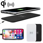 For iPhone X /8 /8 Plus Fast Qi Wireless Charger Charging Pad Stand Dock Mat IOS