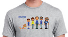 PERSONALISED FOOTBALL EVOLUTION T-SHIRT - PICK YOUR OWN KITS FOR THE CHARACTERS