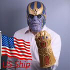 2018 Infinity War Infinity Gaunt Cosplay Thanos Mask The Revengers Thanos Gloves