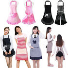 apron design pattern - NEW Lovely Flounce and Bow-knot Design Pattern Apron with Pockets Women Girls