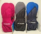 Columbia Mittens Toddler Unisex Chippewa Long Mittens Waterproof Assorted Colors