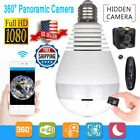 Mini Security IP Camera 360° Panoramic SPY Hidden 1080P Wifi Wireless Light Bulb $28.39 USD on eBay