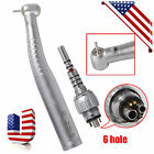 Dental Fiber Optic Handpiece Big/Standard Torque & Quick Coupler 6Holes Fit KAVO
