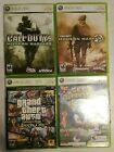 Lot of 4 XBOX 360 games