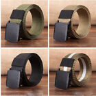 Men's Military Outdoor Sports Military Tactical Nylon Waistband Canvas Web Belt
