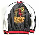 Star Wars Mens Embroidered Darth Vader Satin Souvenir Bomber Jacket Kanji NWT $74.99 USD