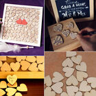 heart decorations - Mixed Size Cute Wooden Love Heart Shape Wedding Party Scatter Home Decoration