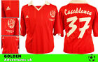 *ADIDAS ; CASABLANCA HOME SHIRT SS / RED = SIZE*