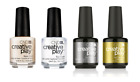 CND Creative Play Essentials - Base Coat or Top Coat Gel Pol
