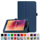 Folio Stand Case Smart Cover for Samsung Galaxy Tab A 8.0 (SM-T380 / T385) 2017