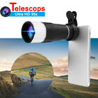 MOGE 35X HD Optical Zoom Lens Camera Monocular Telescope + Clip For Mobile Phone