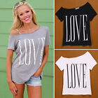 Women Loose Short Sleeve Cotton Casual Blouse Tops Fashion Summer T-shirt Sexy