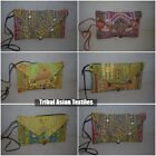 Vintage Tribal Purse Ethnic Banjara Gypsy Clutch Hippie Boho Women
