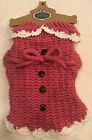 Gorgeous Rose Pink Dog Sweater - SMALL - Pret a Paw Couture - Soft - NWT