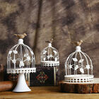 Candle Holder Classic Creative Decorations Iron Birdcage Design For Home Wedding