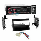 Pioneer CD MP3 AUX Stereo Din Dash Kit Wire Harness for 2007-10 Hyundai Elantra