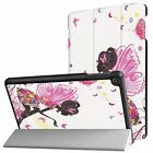 "For New Kindle Fire HD 8 2017 8"" Leather Flip Folio Stand Protective Case Cover"