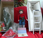 William Tung Collection Hank Christmas Decoration Doll porcelain 1994