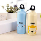 Travel Bike Bicycle Vacuum Flask Office Cartoon Aluminum alloy Water Bottle HJ