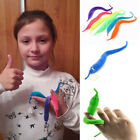 Magic Twisty Fuzzy Worm Wiggle Moving Sea Horse Kids Trick Toy Caterpillar QP