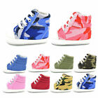 Baby Sneakers Newborn Baby Crib Shoes Girls Toddler Laces Soft Sole Shoes E0050