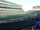2 CINCINNATI BENGALS PSL COA SEAT LICENSE HOME FIELD SIDELINE SECTION 116 Row 27