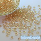 4.5mm Gold Shadow 1/3CT Acrylic Diamond Confetti Wedding Party Table Scatters