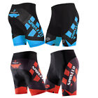 Pro Cycling Shorts Men's Bike Wear 4D Gel Padded Lycra Short Pants Bottoms M-3XL