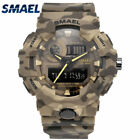 New Camouflage Military Watches SMAEL Brand Sport Watches LED Digital Wristwatch